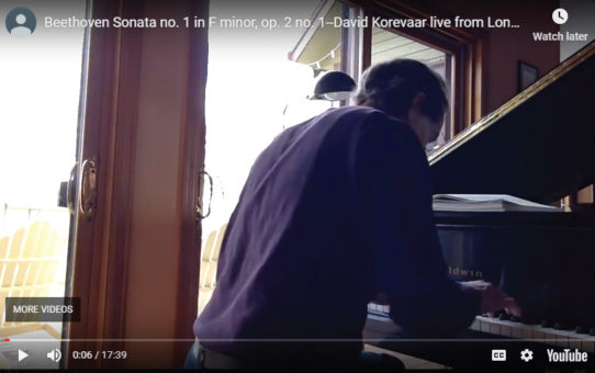 32 Beethoven Piano Sonatas in 60 days